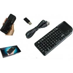 Bezdrátová 2.4GHz mini klávesnice s touch padem K808RF
