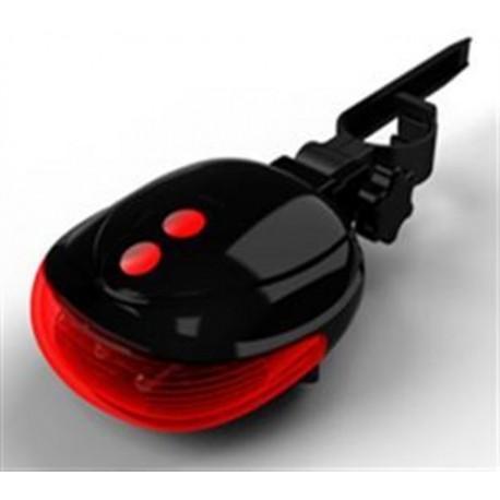 LED světlo na kolo s laserem TAIL-A