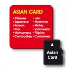 Asijská jazyková karta pro překladače V4 a V5